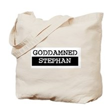 GODDAMNED STEPHAN Tote Bag