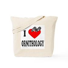 I HEART ORNITHOLOGY Tote Bag