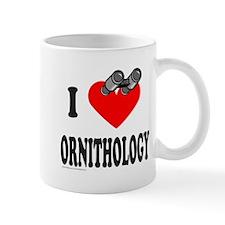 I HEART ORNITHOLOGY Mug