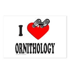 I HEART ORNITHOLOGY Postcards (Package of 8)