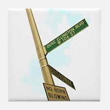 Duke Ellington Blvd. Tile Coaster