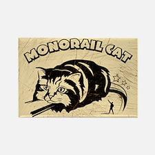 MONORAIL CAT - Retro Magnet