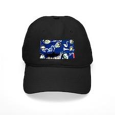 Funny Surf dog Baseball Hat