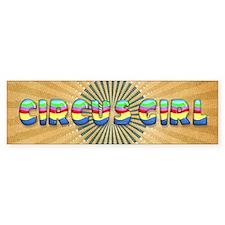 CPM Carnival Girl Bumper Bumper Sticker