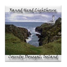 Cute Ireland landscapes Tile Coaster