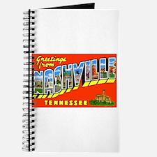 Nashville Tennessee Greetings Journal