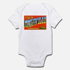 Nashville Tennessee Greetings Infant Bodysuit