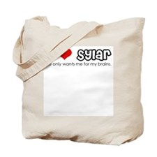 I Heart Sylar Tote Bag