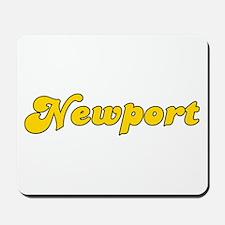 Retro Newport (Gold) Mousepad