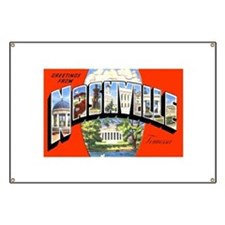 Nashville Tennessee Greetings Banner