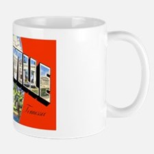 Nashville Tennessee Greetings Mug