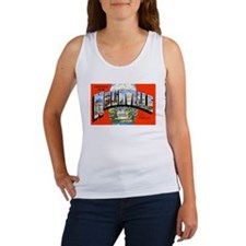 Nashville Tennessee Greetings (Front) Women's Tank