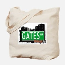 GATES AV, BROOKLYN, NYC Tote Bag