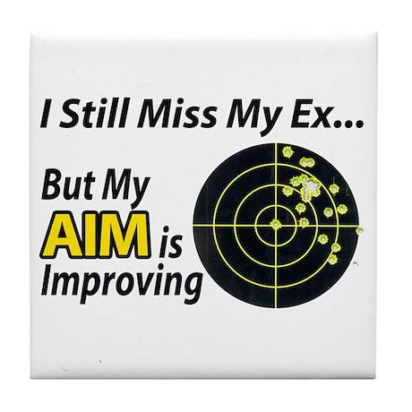 I Miss My Ex... Tile Coaster