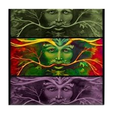 Greenman Tile Coaster