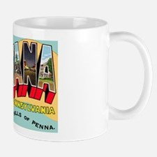 Indiana Pennsylvania Greetings Mug