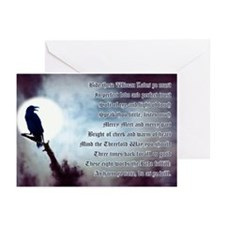Ravens Rede Greeting Cards