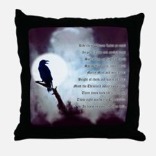 Ravens Rede Throw Pillow