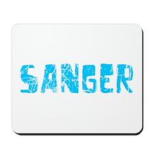 Sanger Faded (Blue) Mousepad