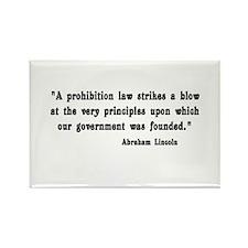 Prohibition Rectangle Magnet