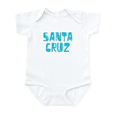 Santa Cruz Faded (Blue) Infant Bodysuit