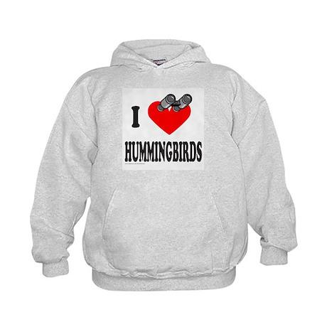 I HEART HUMMINGBIRDS Kids Hoodie