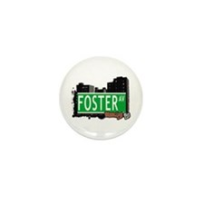FOSTER AV, BROOKLYN, NYC Mini Button (10 pack)