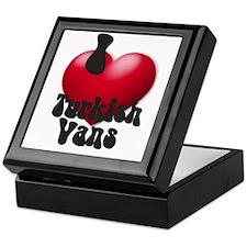 'I Love TurkVans!' Keepsake Box