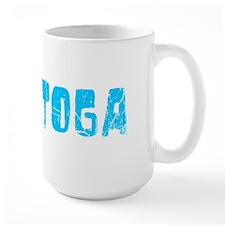 Saratoga Faded (Blue) Mug