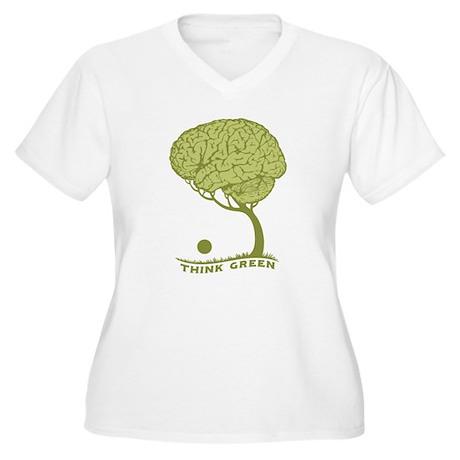 Braintree Women's Plus Size V-Neck T-Shirt