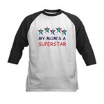 SUPERSTAR MOM Kids Baseball Jersey
