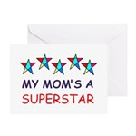 SUPERSTAR MOM Greeting Card