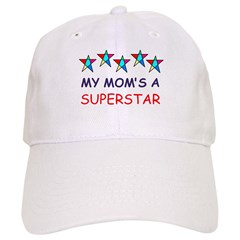 SUPERSTAR MOM Baseball Cap