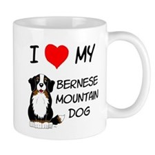 I Love Heart Bernese Dog Mug