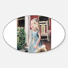 Elizabeth Anne Oval Decal