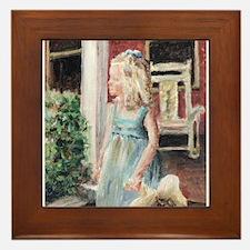 Elizabeth Anne Framed Tile