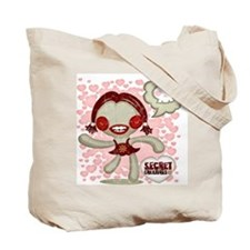 Spooky Doll Tote Bag