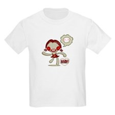 Spooky Doll Kids T-Shirt