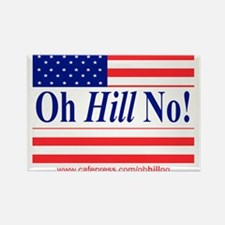 Oh Hill No! Rectangle Magnet