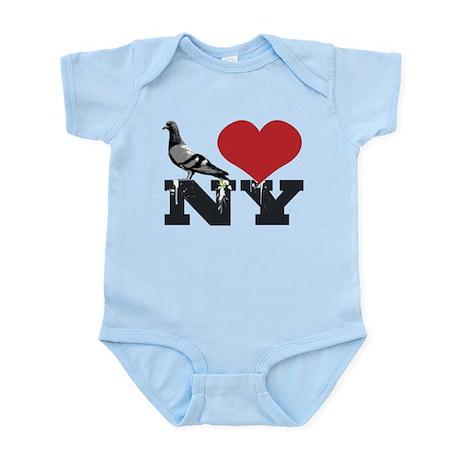 NY Pigeon Infant Bodysuit