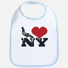 NY Pigeon Bib