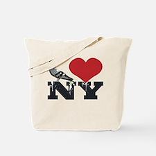 NY Pigeon Tote Bag