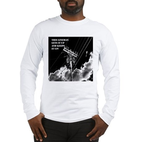 Humorous Lineman t-shirt