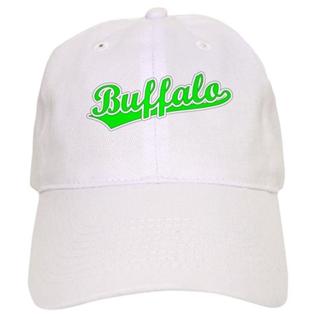 Retro Buffalo (Green) Cap