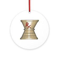 Pharmacy Trophy Ornament (Round)