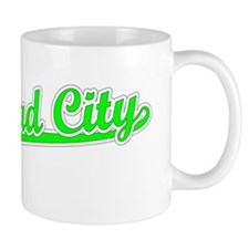 Retro Bullhead City (Green) Mug