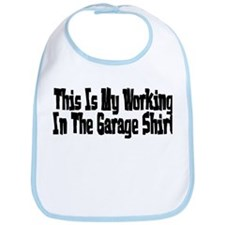 My garage shirt Bib