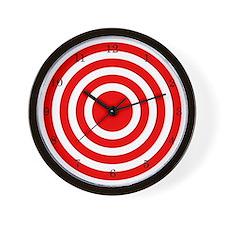Bullseye Clock