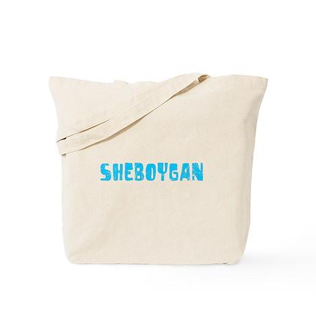 Sheboygan Faded (Blue) Tote Bag