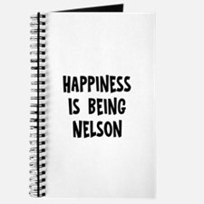Happiness is being Nelson Journal